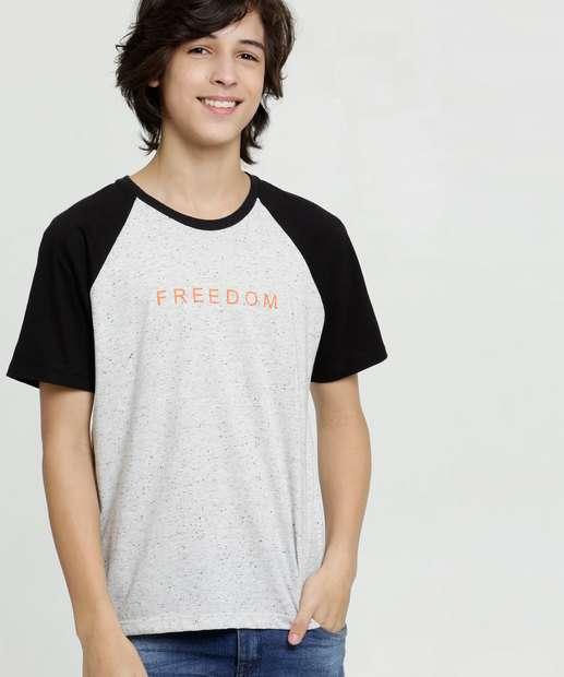 Image_Camiseta Juvenil Recorte Botonê Manga Curta MR