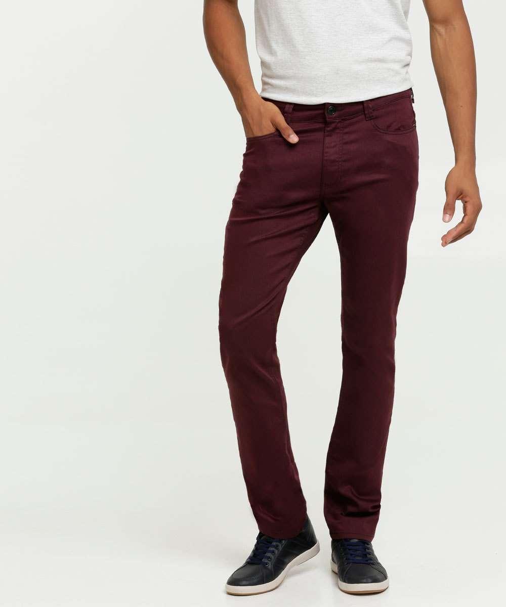 Calça Masculina Sarja Slim MR