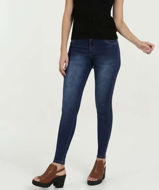 3d632a6a8 Calça Feminina Jeans Skinny Stretch Biotipo