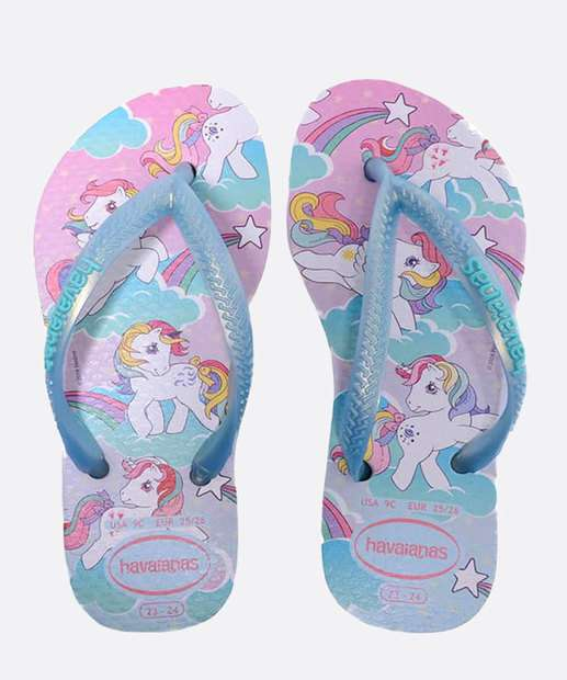 Image_Chinelo Havaianas Infantil Slim My Little Pony