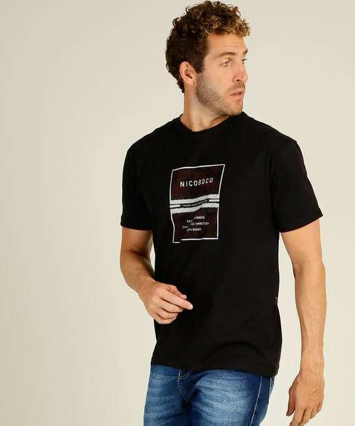 Image_Camiseta Masculina Estampa Frontal Manga Curta Nicoboco
