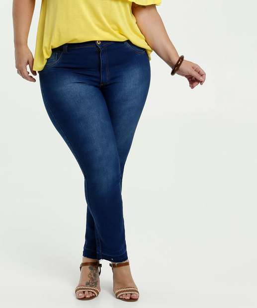 Image_Calça Feminina Jeans Stretch Skinny Plus Size Biotipo