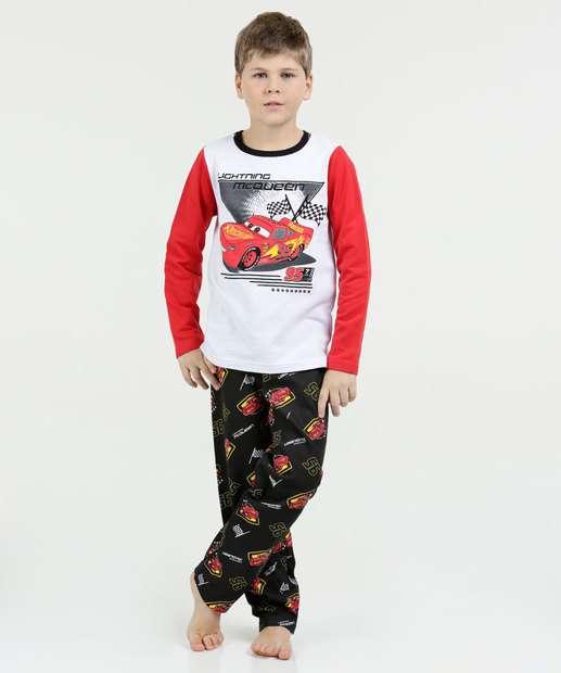 Image_Pijama Infantil Moletinho Carros Disney