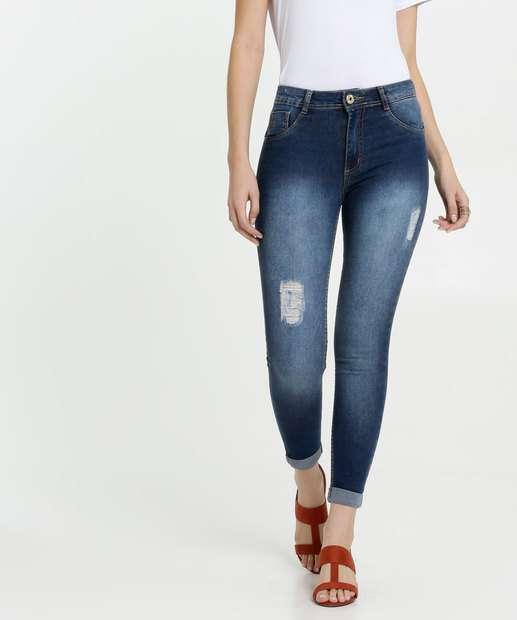Image_Calça Jeans Feminina Cigarrete Destroyed Biotipo