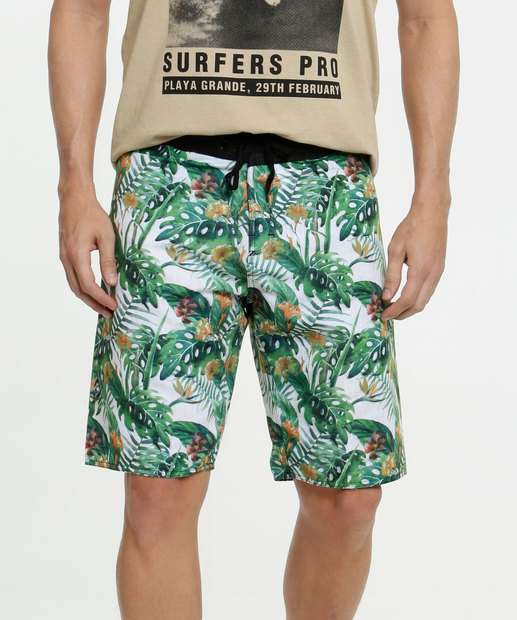 Image_Bermuda Masculina Surf Estampa Tropical MR