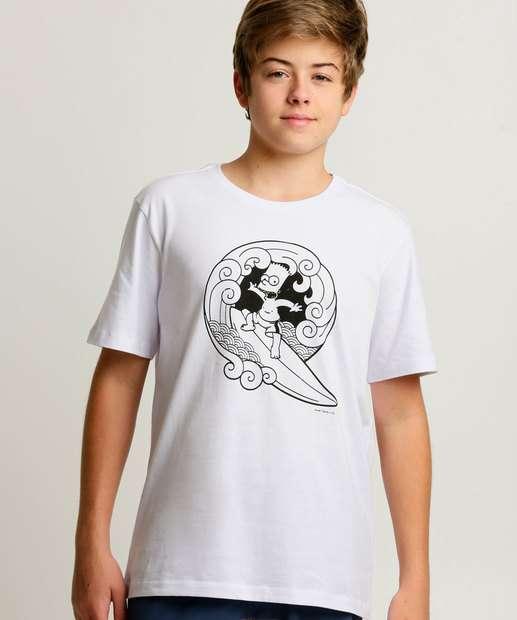 Image_Camiseta Juvenil Estampa Bart Simpsons Tam 10 a 16