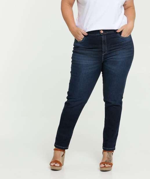 Image_Calça Jeans Skinny Feminina Plus Size Uber Jeans