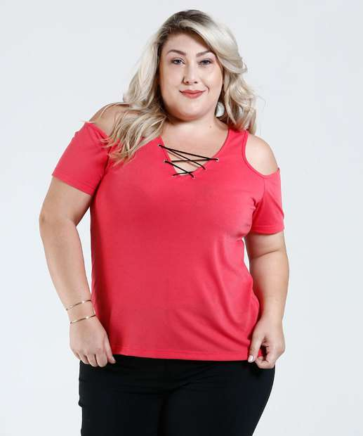 Image_Blusa Feminina Open Shoulder Plus Size Marisa