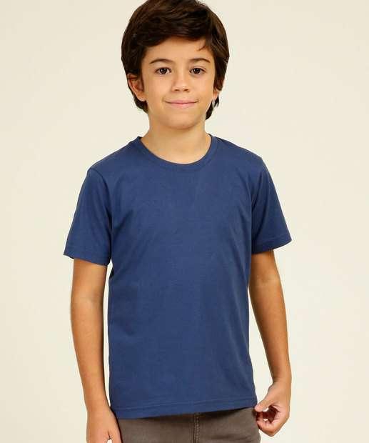 Image_Camiseta Infantil Manga Curta Lisa MR Tam 4 a 10