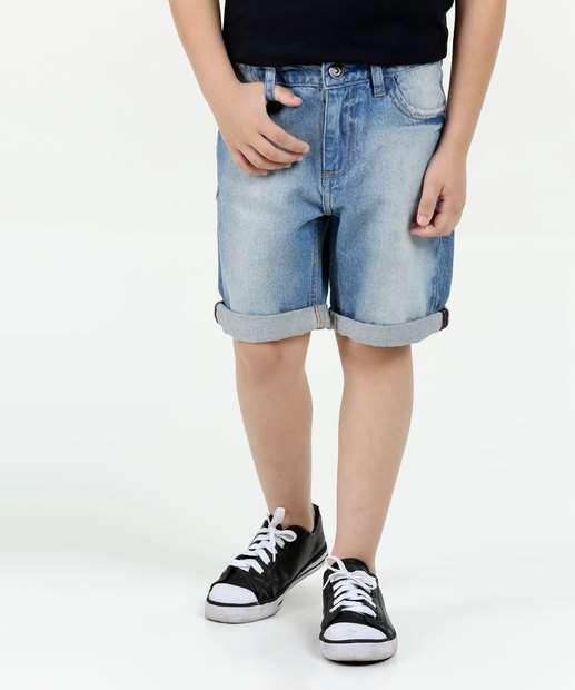 Image_Bermuda Infantil Jeans Puídos Marisa