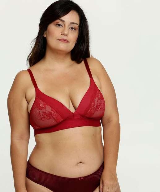 Image_Sutiã Feminino Top Corpete Renda Plus Size DeMillus