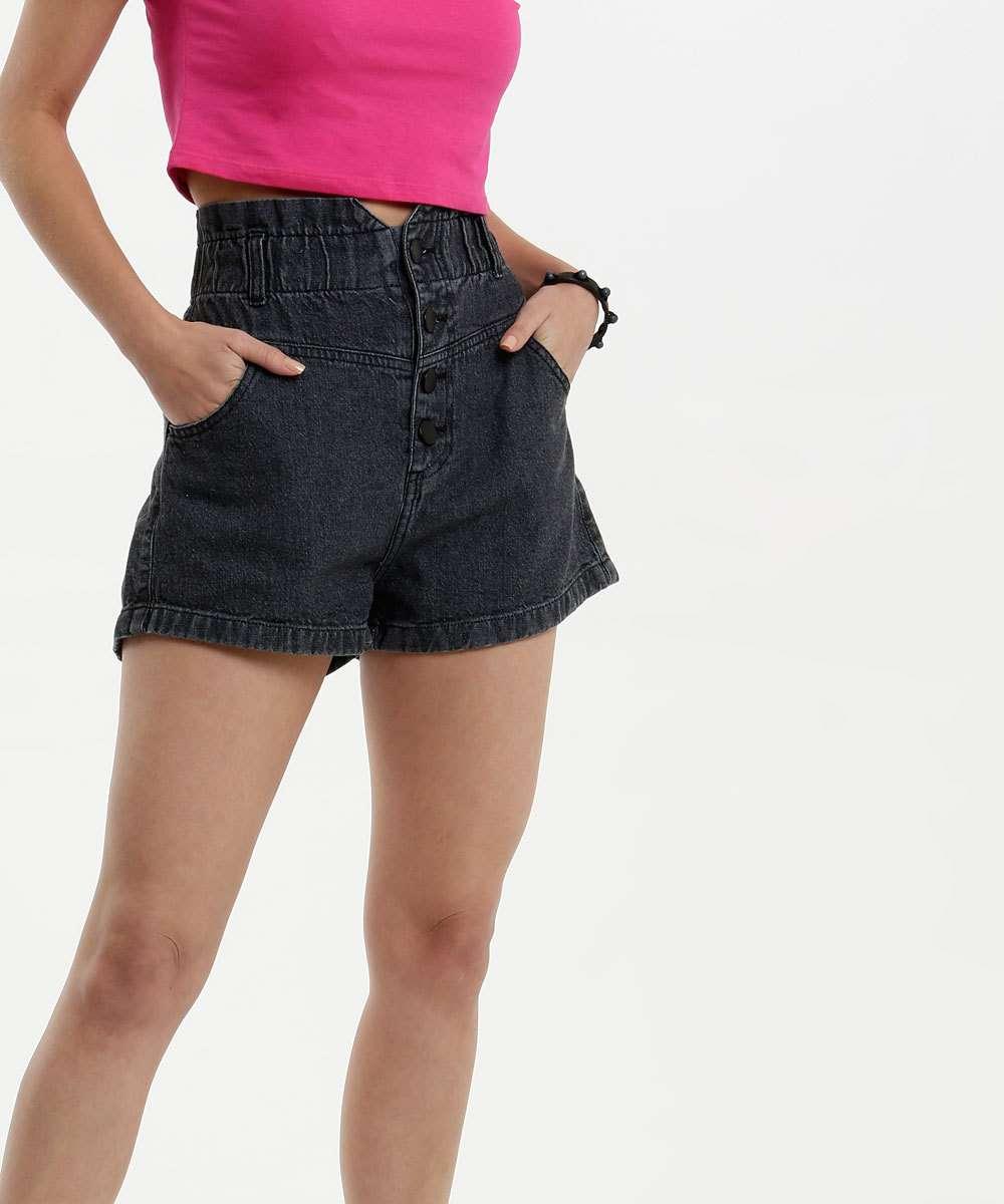 Short Feminino Jeans Clochard Marisa