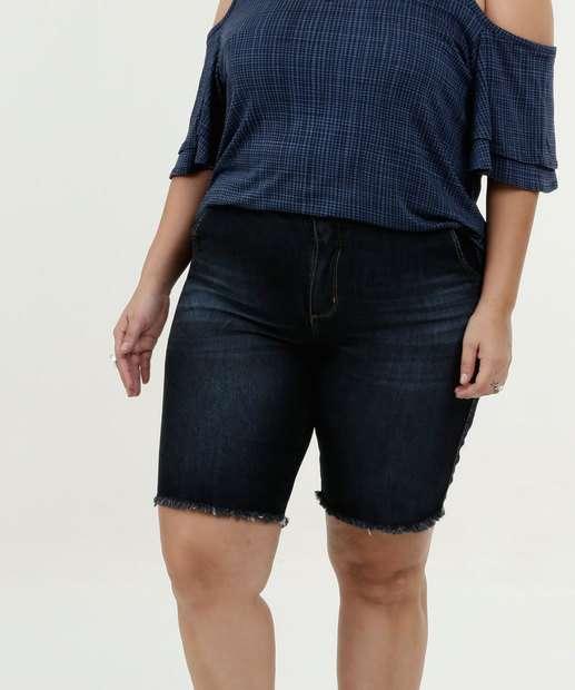 Image_Bermuda Feminina Jeans Plus Size Razon