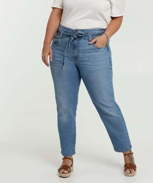 Image_Calça Clochard Jeans Feminina Plus Size Marisa