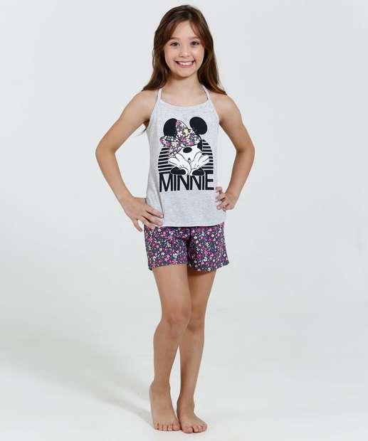 Image_ Pijama Infantil Estampa Minnie Disney
