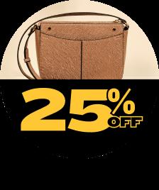 Bolsas 25% OFF