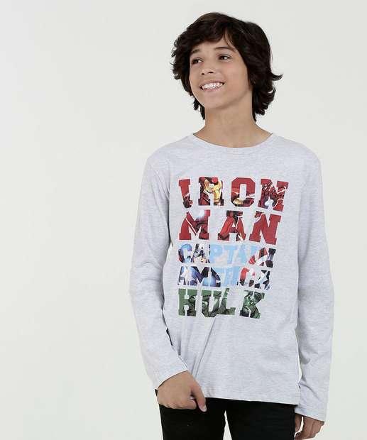 Image_Camiseta Juvenil Estampa Os Vingadores Marvel