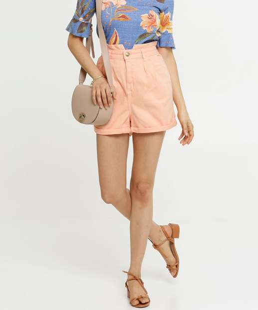 Image_Short Feminino Sarja Cintura Alta Zune Jeans