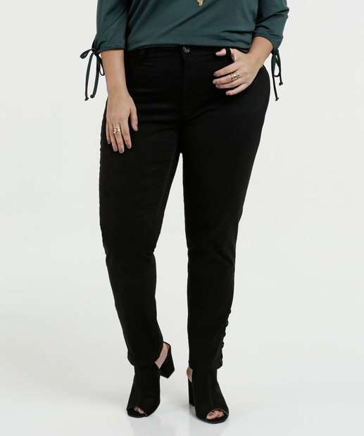 Image_Calça Feminina Sarja Skinny Plus Size Biotipo