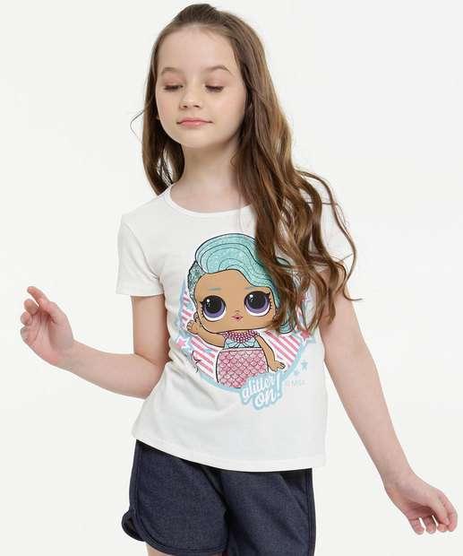 Image_Blusa Infantil Manga Curta Estampa Boneca Lol Tam 4 a 10