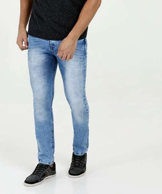 1750a62b65e86 Calça Masculina Jeans Skinny