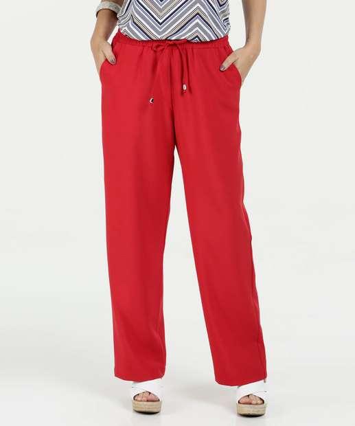 Image_Calça Feminina Pantalona Bolsos Marisa