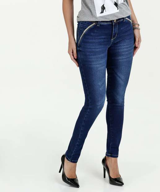 Image_Calça Feminina Jeans Skinny Modela BumBum Sawary