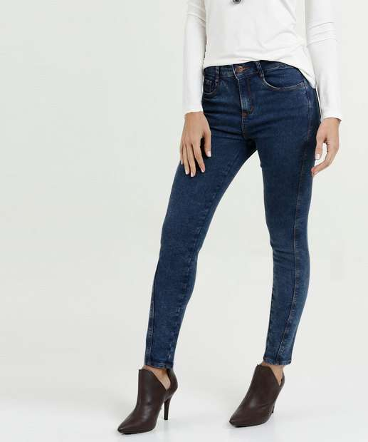Image_Calça Feminina Jeans Skinny Stretch Marisa