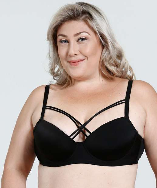 Image_Sutiã Feminino Plus Size Com Base Tiras Strappy Marisa