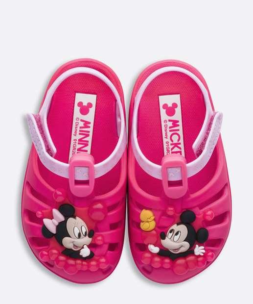 Image_Sandália Infantil Minnie Velcro Disney