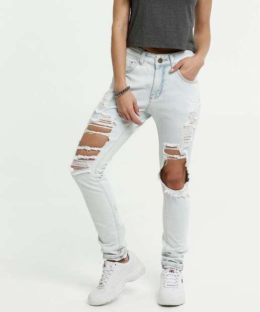 Image_Calça Feminina Destroyed Boyfriend Zune Jeans