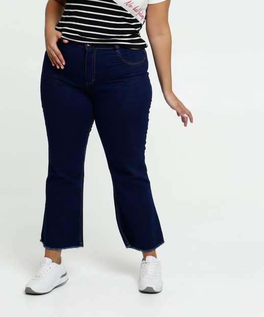 Image_Calça Feminina Jeans Capri Plus Size Biotipo