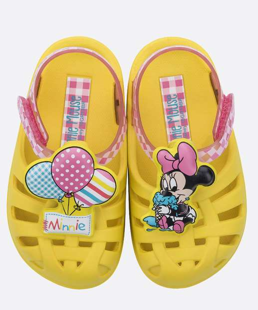 Image_Sandália Infantil Bebê Disney Minnie Grendene Kids