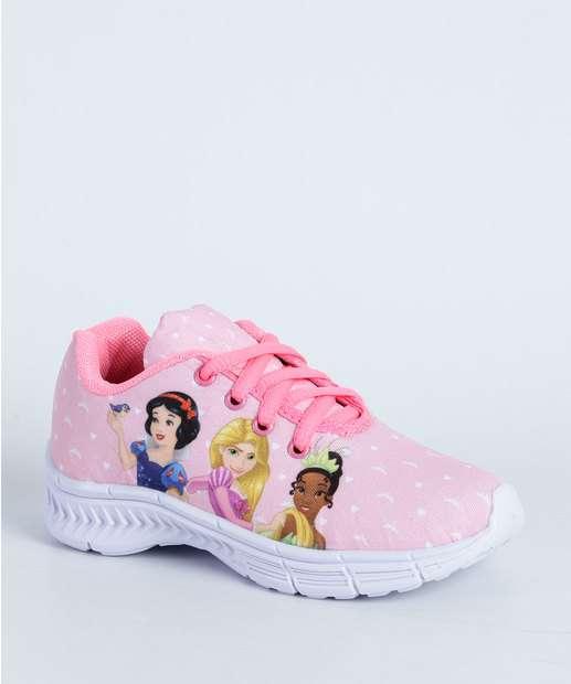 Image_Tênis Infantil Princesas Disney  D034P