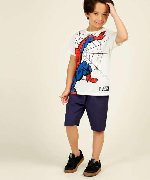 Image_Conjunto Infantil Manga Curta Marvel Spider Man Tam 4 a 10