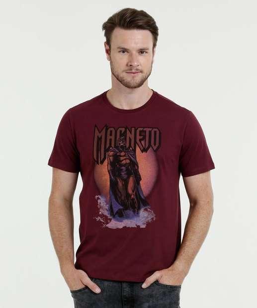 Image_Camiseta Masculina Estampa Magneto Manga Curta Marvel