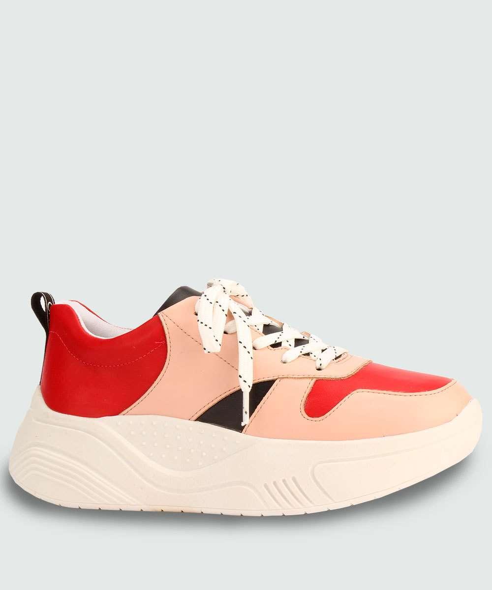 Tênis Feminino Chunky Sneaker Via Uno 384001SEAVV