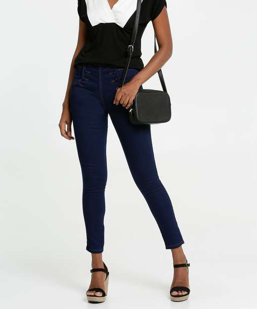 Image_Calça Jeans Feminina Skinny Botões Biotipo