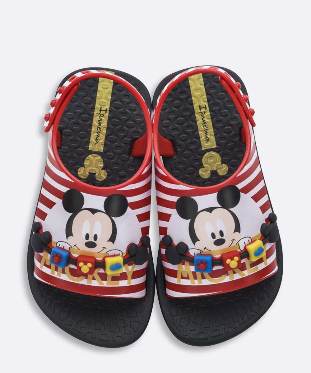 Papete Ipanema Infantil Estampa Mickey Love