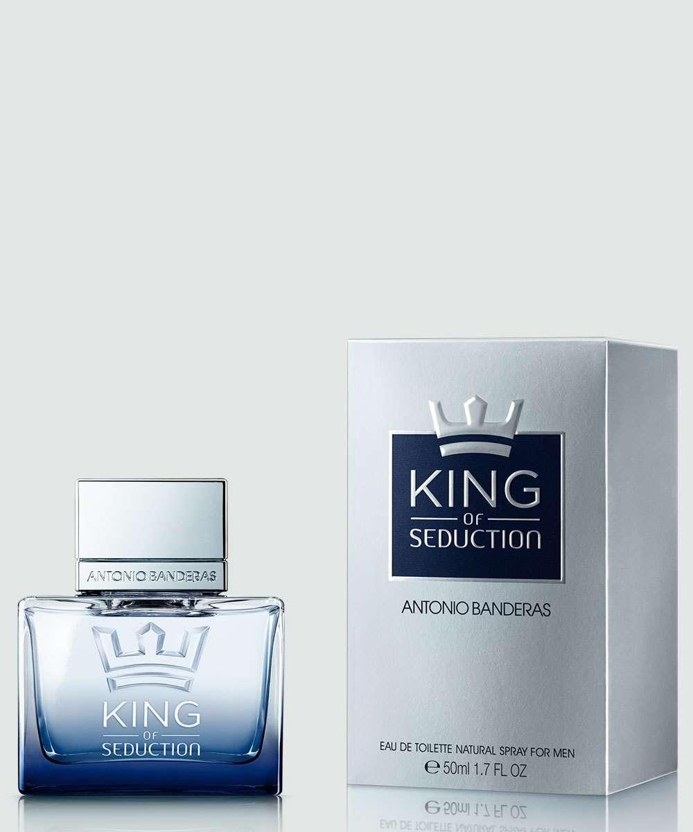 6430a5dcc Perfume Masculino King Of Seduction Antonio Banderas 50ml