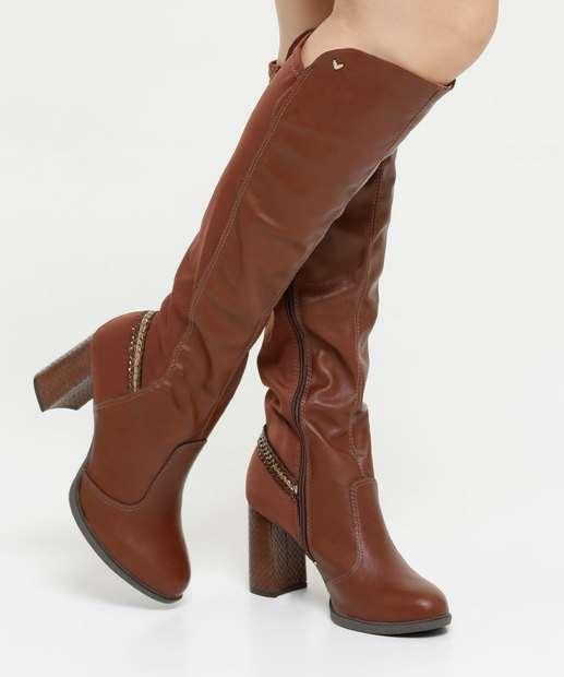 Image_Bota Feminina Over The Knee Salto Grosso Textura Mississipi