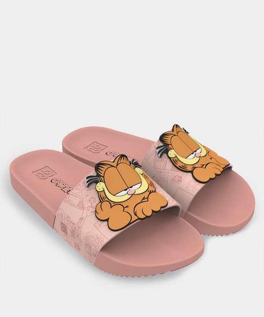 Image_Chinelo Feminino Slide Lazy Garfield Zaxy