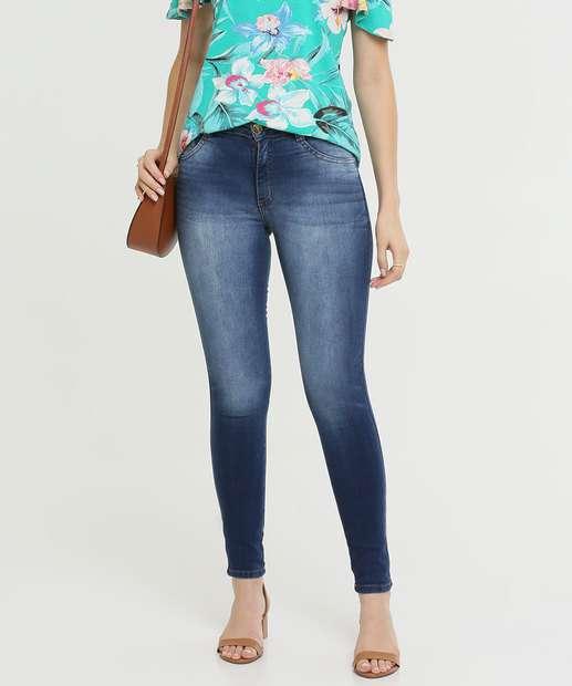 Image_Calça Jeans Skinny Pedraria Feminina Biotipo