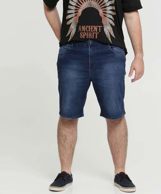 Image_Bermuda Masculina Jeans Bolsos Plus Size Razon
