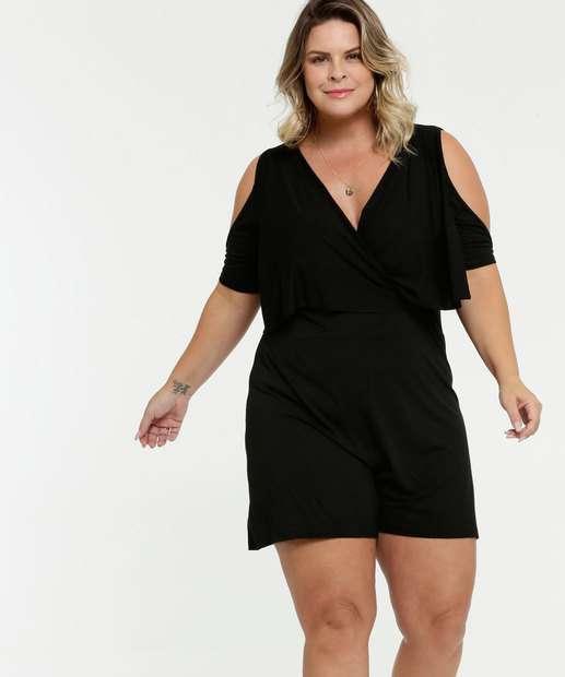 Image_Macaquinho Feminino Transpassado Open Shoulder Plus Size