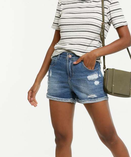 Image_Short Feminino Destroyed Uber Jeans
