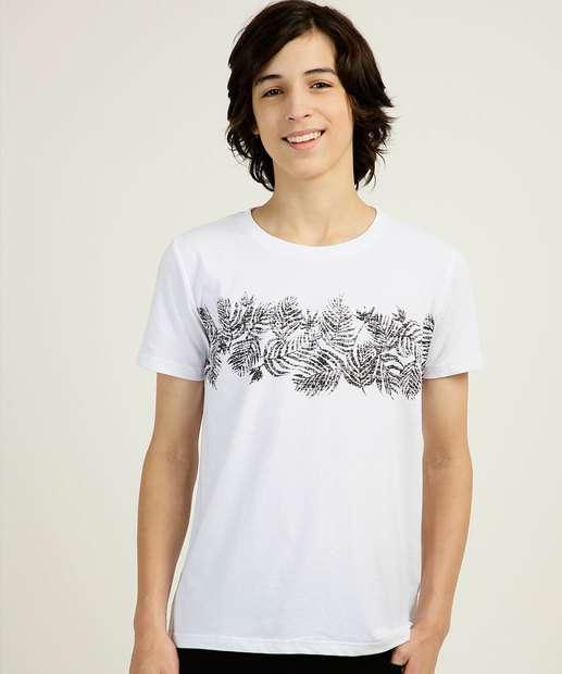 Image_Camiseta Juvenil Estampada Manga Curta Yacht Master Tam 10 a 16