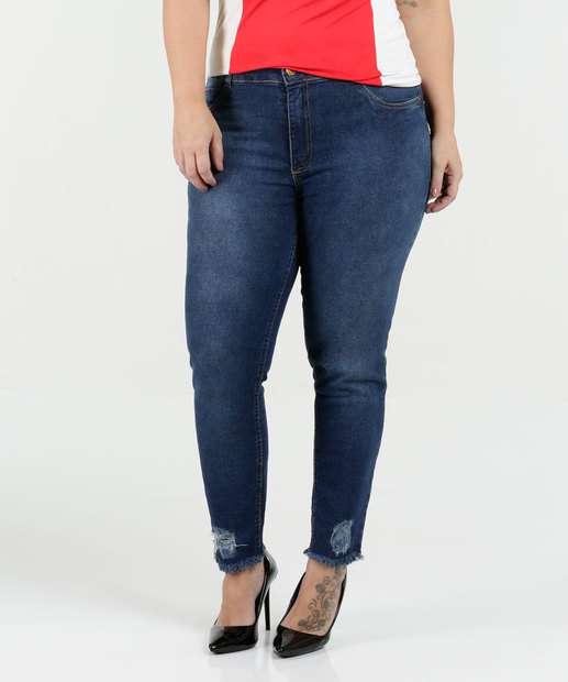Image_Calça Feminina Jeans Skinny Plus Size Biotipo