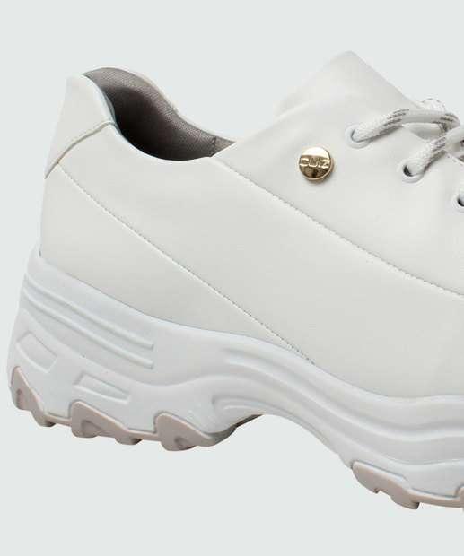 Sneaker Tênis Quiz BRANCO Chunky 6838901 Tênis Feminino Chunky Feminino q4wCxOZTTn