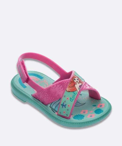 Image_Sandália Infantil Princesa Ariel Disney